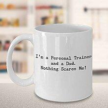 Funny Personal Trainer Dad Kaffeetasse