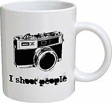 Funny Tasse–I Shoot People–11Oz