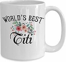 Funny Titi Mug World's Best Titi jamais Tasses