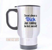 Funny Travel Mug(Teetassen/Kaffeetassen) Sliver