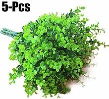 Funpa 5 Buns Kunststoff Pflanze Simulierte