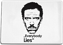 Funtasstic Glasschneidebrett Everybody lies