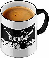 Funtasstic Tasse Conquer - Kaffeepott Kaffeebecher