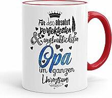 Funtasstic Tasse Für den absolut perfektesten Opa