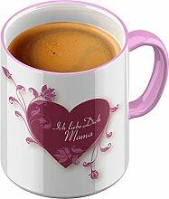 Funtasstic Tasse Ich liebe Dich Mama - Kaffeepott