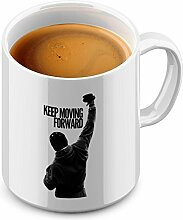 Funtasstic Tasse Keep Moving Forward - Kaffeepott