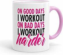 Funtasstic Tasse On good Days I Workout -