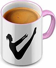 Funtasstic Tasse Pilates - Kaffeepott Kaffeebecher