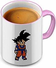 Funtasstic Tasse Pixel Goku - Kaffeepott