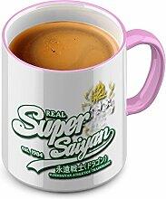 Funtasstic Tasse Real Super Saiyan whitegreen -