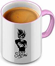 Funtasstic Tasse Super Saiyan - Kaffeepott