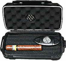 Funthy Zigarren Humidor für Reisen, IP68