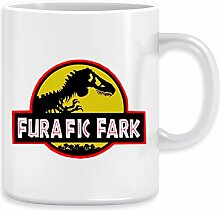 Furafic Fark Kaffeebecher Becher Tassen Ceramic