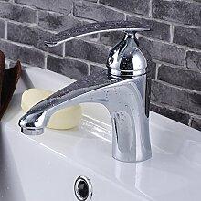 Furesnts moderne Home Küche und Bad alle Kupfer Wasserhahn warmes und kaltes Mischbatterie Küche Badezimmer Waschbecken Armaturen Waschbecken Wasserhähne PD 10 10 Taps(Standard G 3/8 Universalschlauch Ports)