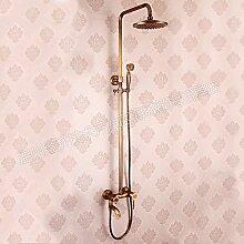 Furesnts moderne Home Küche und Bad Armatur im europäischen Stil mit antiken alle retro Hähnen warmes und kaltes Wasser, Waschbecken Sitzbank Becken Lunge,(Standard G 3/8 Universalschlauch Ports)
