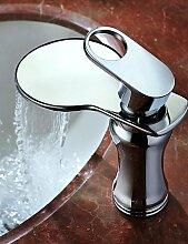 furesnts Moderne Zuhause Küche und Bad Wasserhahn azos Moderne Badezimmer Waschbecken Wasserhahn Single Loch Wasserfall Wasserhahn