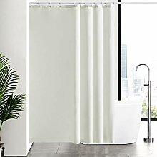 Furlinic Duschvorhang Überlänge aus Stoff,