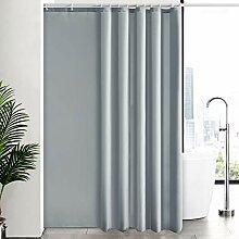 Furlinic Duschvorhang Überlänge für Badezimmer,
