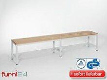 furni24 Bank Umkleidebank Sitzbank Garderobenbank