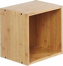 Furniteam Design Wandregal Cube Regal, klein,