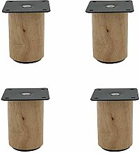 Furniture legs 4 × Möbelfüße, Stützfüsse aus