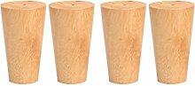 Furniture Legs Gummi Holz Hocker Beine, Möbel