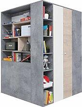 furniture24_eu Begehbarer Kleiderschrank Schrank