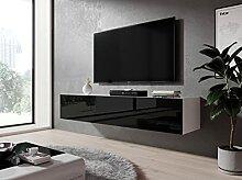 Furnix TV Kommode Zibo Fernsehschrank B160 x H34 x