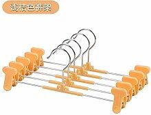 FuRongHuang 10 28 Cm Farbe Kinder Rutschfeste Kunststoff Kleiderbügel Und Ein Bekleidungsgeschäft, 10, Orange