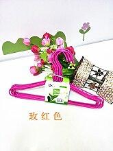 FuRongHuang 50 29 Cm Kinder Kleiderbügel Und Baby Kleiderbügel, 50, Rose Ro