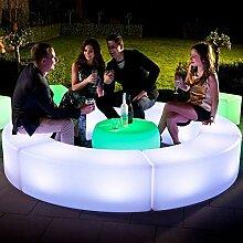 FURSTAR LED Lounge Leuchtmöbel CURVBO LED