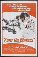 Fury On Wheels Poster 01 Metal Sign A4 12x8 Aluminium