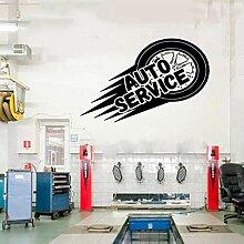 Fushoulu 65X42Cm Auto Service Wand Vinyl