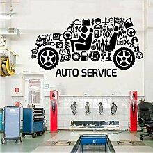 Fushoulu 79X42Cm Auto Service Cut