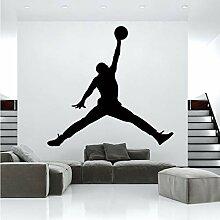 Fushoulu Basketball Vinyl Wandaufkleber Tapete
