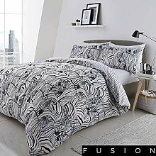 Fusion Zebra Bettwäsche-Set, pflegeleicht,