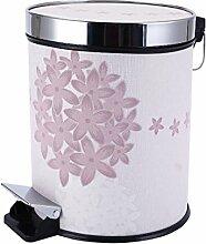 Fuß Wohnzimmer Küche Mülleimer Mit Deckel Lagerung Fässer Art Und Weise Nach Hause,15-Small