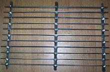 Fußabstreifer, verzinktes Metall