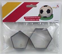 Fussball Ausstecher Set - klein