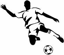 Fußball Junge Wandkunst Aufkleber Wandaufkleber