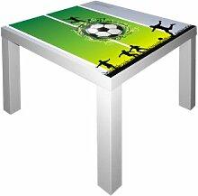 Fußball Möbelsticker / Aufkleber für den Tisch