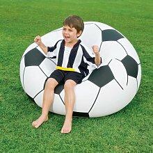 Fußball-Sessel BESTWAY zum Aufblasen / Aufpumpen ca. 114 x 112 x 71 cm