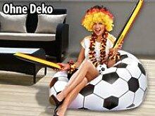 Fussball Sitzsack im coolen Lounge-Style