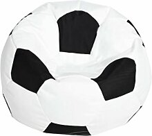 Fußball Sitzsackhülle ohne Füllung,