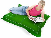 Fußball-Soft Squarbie Sitzsack Fußball