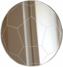Fußball-Spiegel, 20 x 20 cm