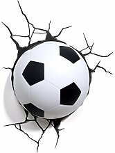 Fußball Wandlampe 3DLightFX kinderlampe
