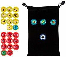 Fußballspiel Magnet 26 Stück für Fußball