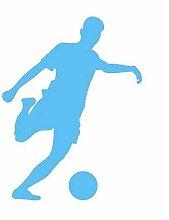 FußBallspieler Wandaufkleber Sport FußBall