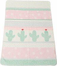 Fussenegger Babydecke Baumwollmischung rosa
